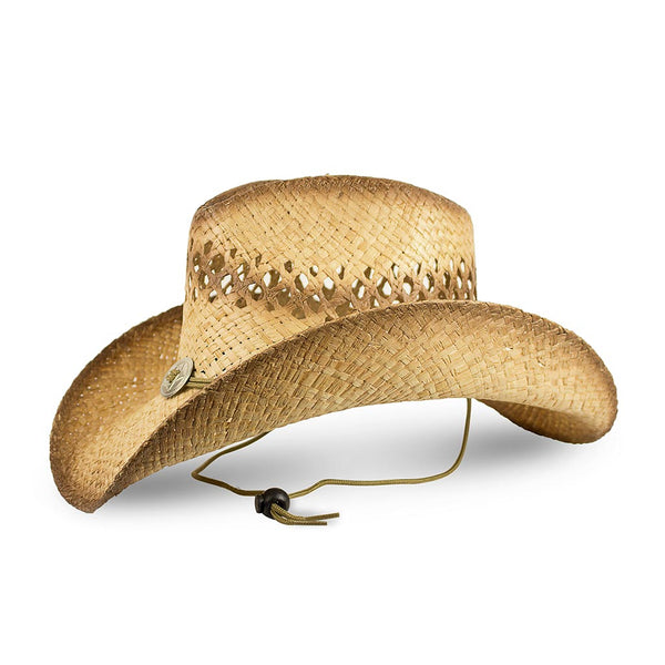 Sombrero Indiana Rafia Antic