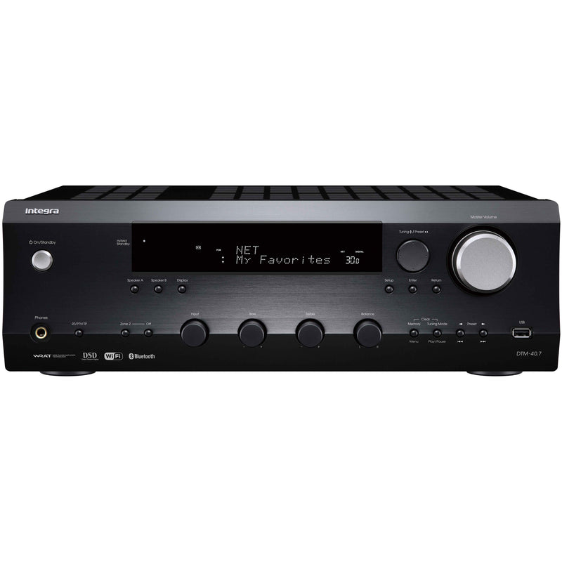 Integra DTM-40.7 Network Stereo Amplifier