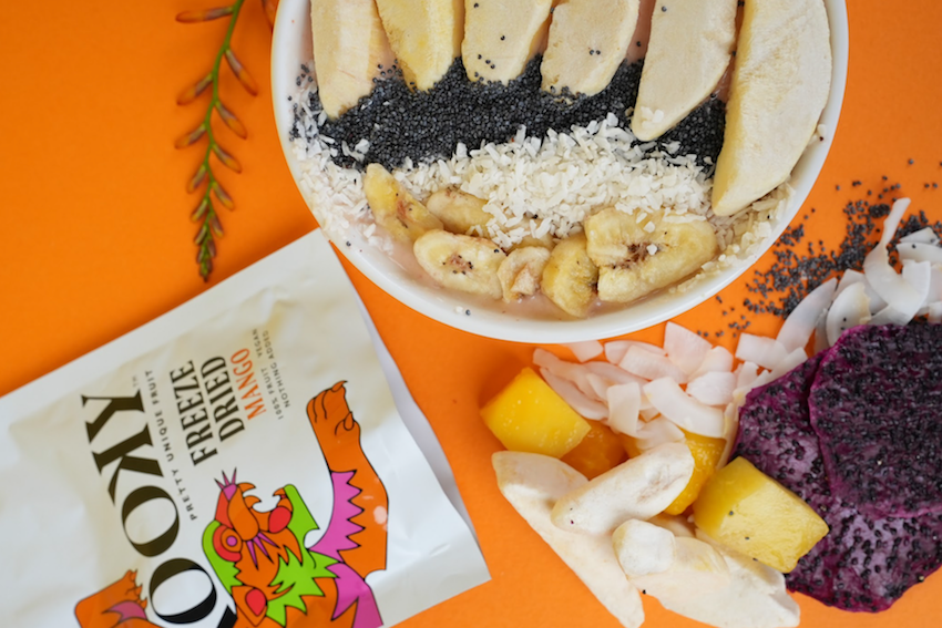 New product launch - Kooky fruits with a smoothie bowl