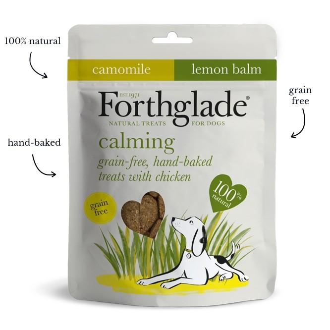 Forthglade Baked GF Calming Treats Chicken, Chamomile & Lemon Balm 150g