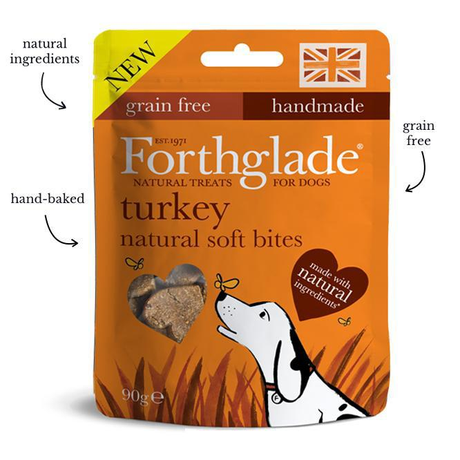 Forthglade Soft Bite Grain Free Turkey Treat 90g