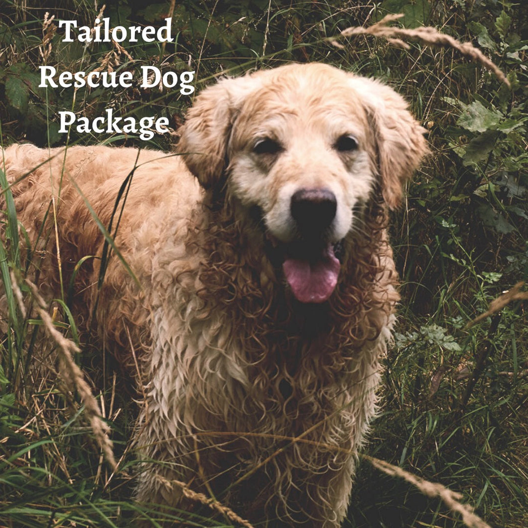 Tailored Rescue Dog Package