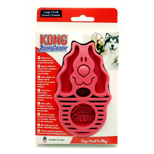 KONG Zoom Groom Dog