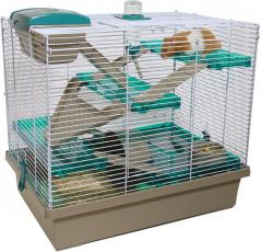 Options Small Animal Home Pico XL Translucent Teal 50x36x47cm