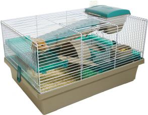 Options Small Animal Home Pico Translucent Teal 50x36x29cm