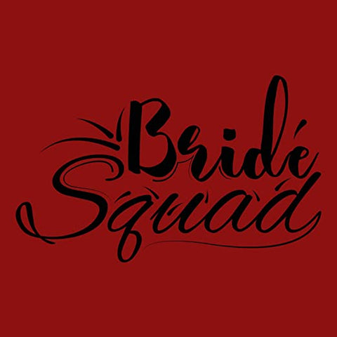 Red - Bride Squad Shirt