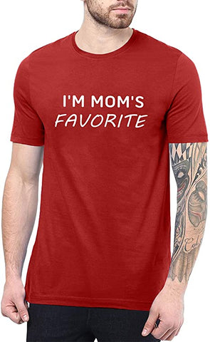 Image of Red - Im Mom's Favorite Shirt