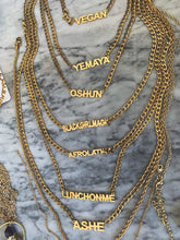 Load image into Gallery viewer, Name Plate Necklace