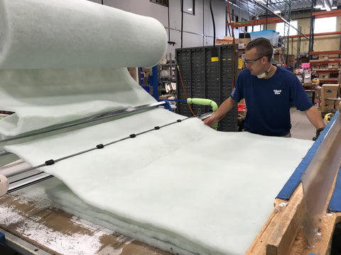 Intelliloft Material Made out of Recycled Plastic Bottles