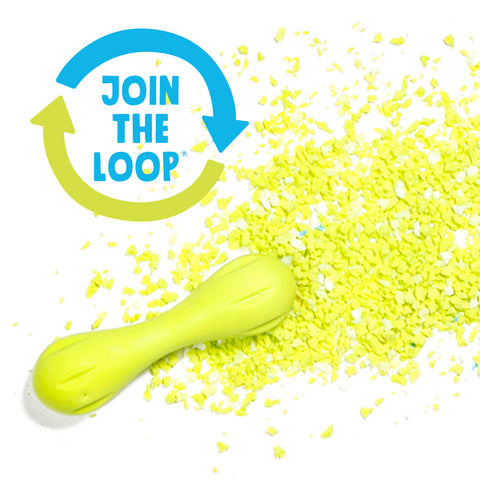 Join the loop zogoflex dog toy recycling