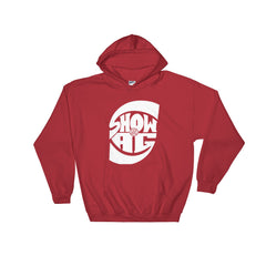 Show & A.G. Hooded Sweatshirt (White Logo)