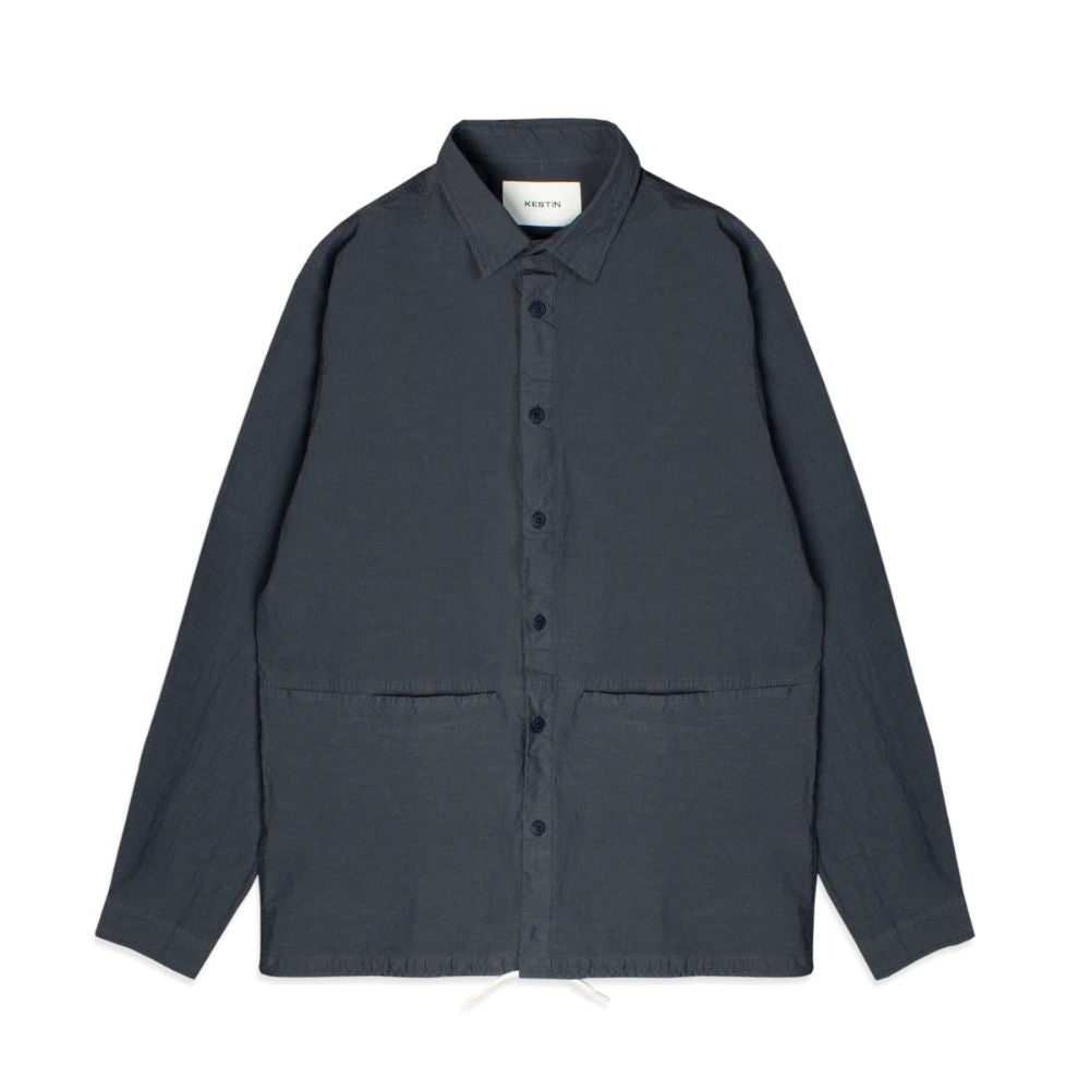 Kestin Armadale Technical Overshirt in Graphite