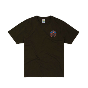 Hikerdelic Original Logo T-Shirt in Military Green