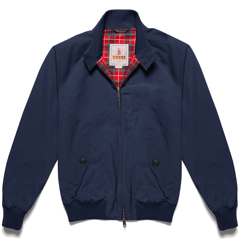 Baracuta G9 Harrington in Navy