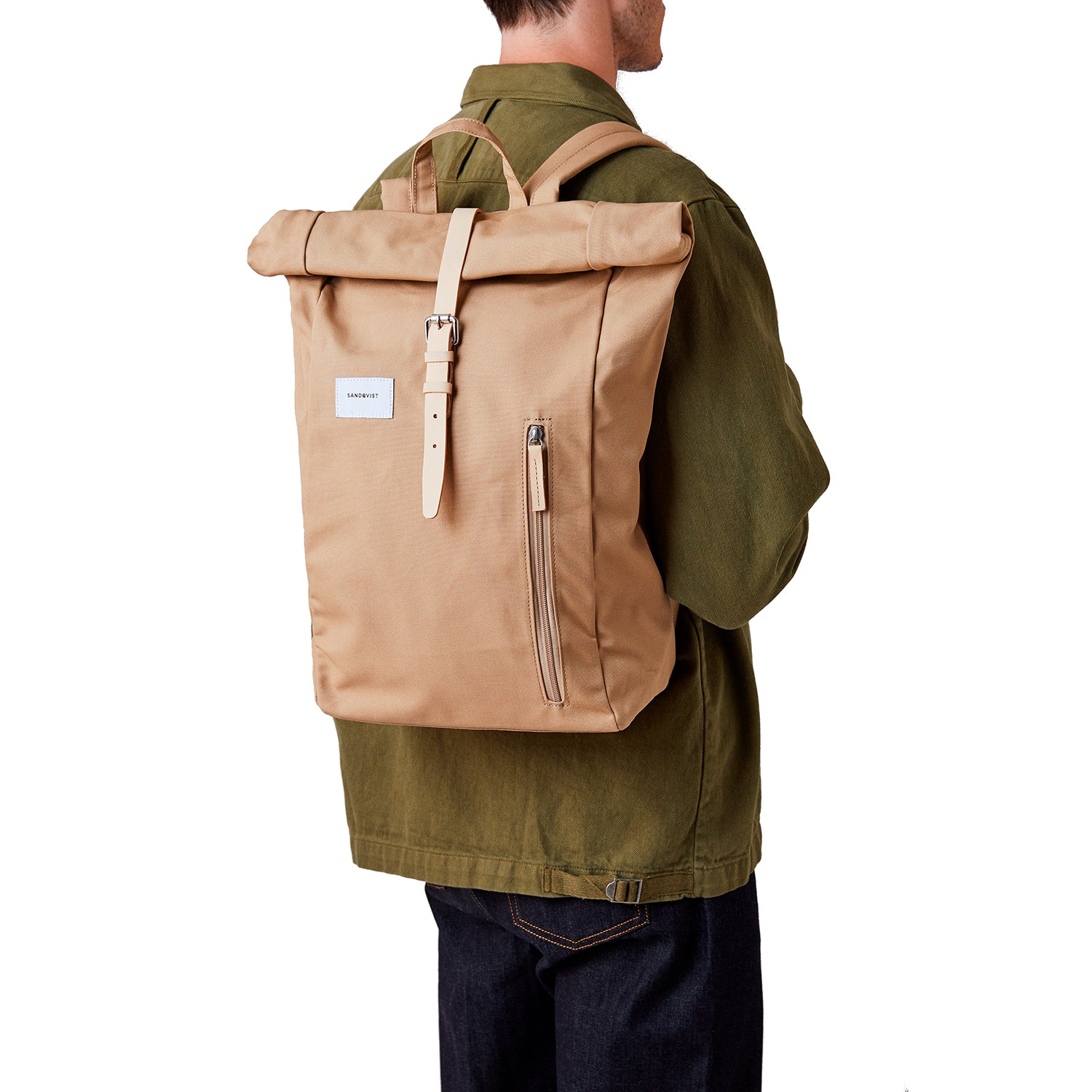 Sandqvist Dante Backpack in Beige