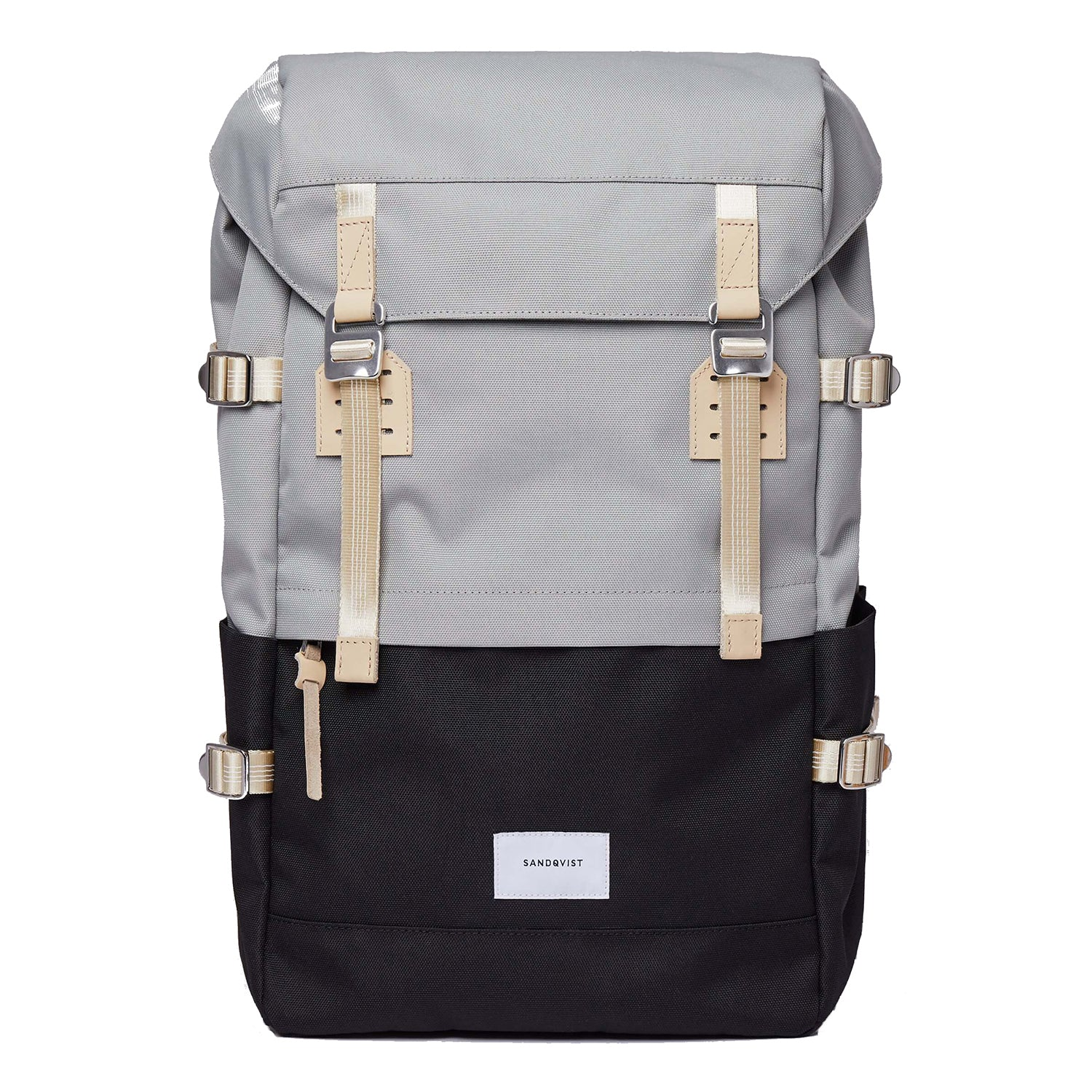 Sandqvist Harald Backpack in Multi Grey/Black