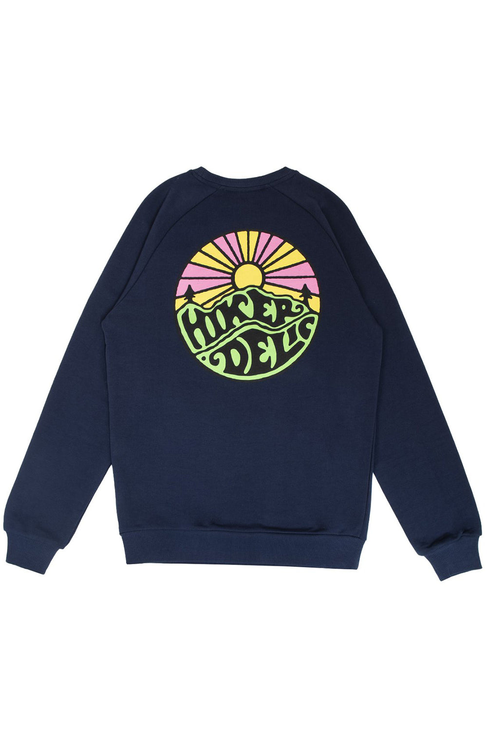 Hikerdelic Original Logo Sweatshirt in Navy
