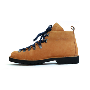 Fracap M120 Mountain Boot in Camel Suede
