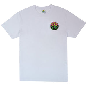 Hikerdelic Original Logo T-Shirt in White