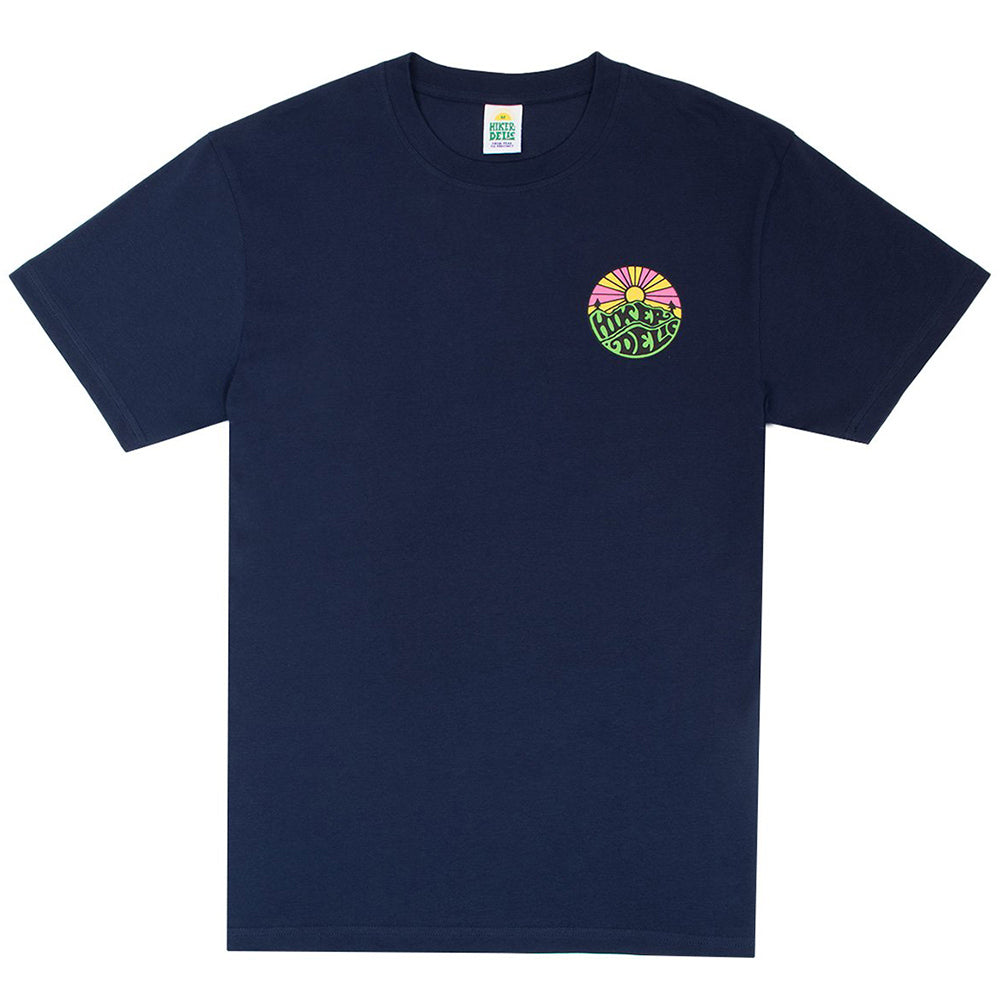 Hikerdelic Original Logo Short Sleeve T-Shirt in Navy