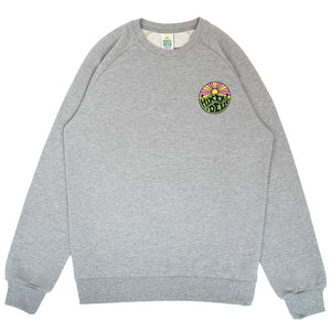 Hikerdelic Original Logo Sweatshirt in Grey