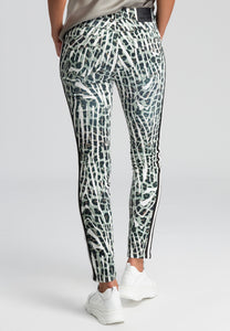 MARC AUREL ANIMAL PRINT JEAN