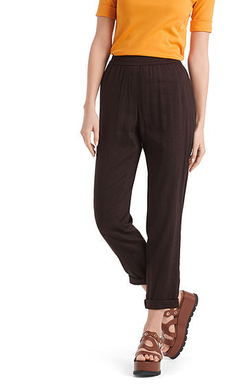 MARC CAIN SUMMER PANT IN LINEN BLEND