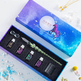 Crystal Glass Pen /Gift Box Set Writing Supplies(50%OFF)