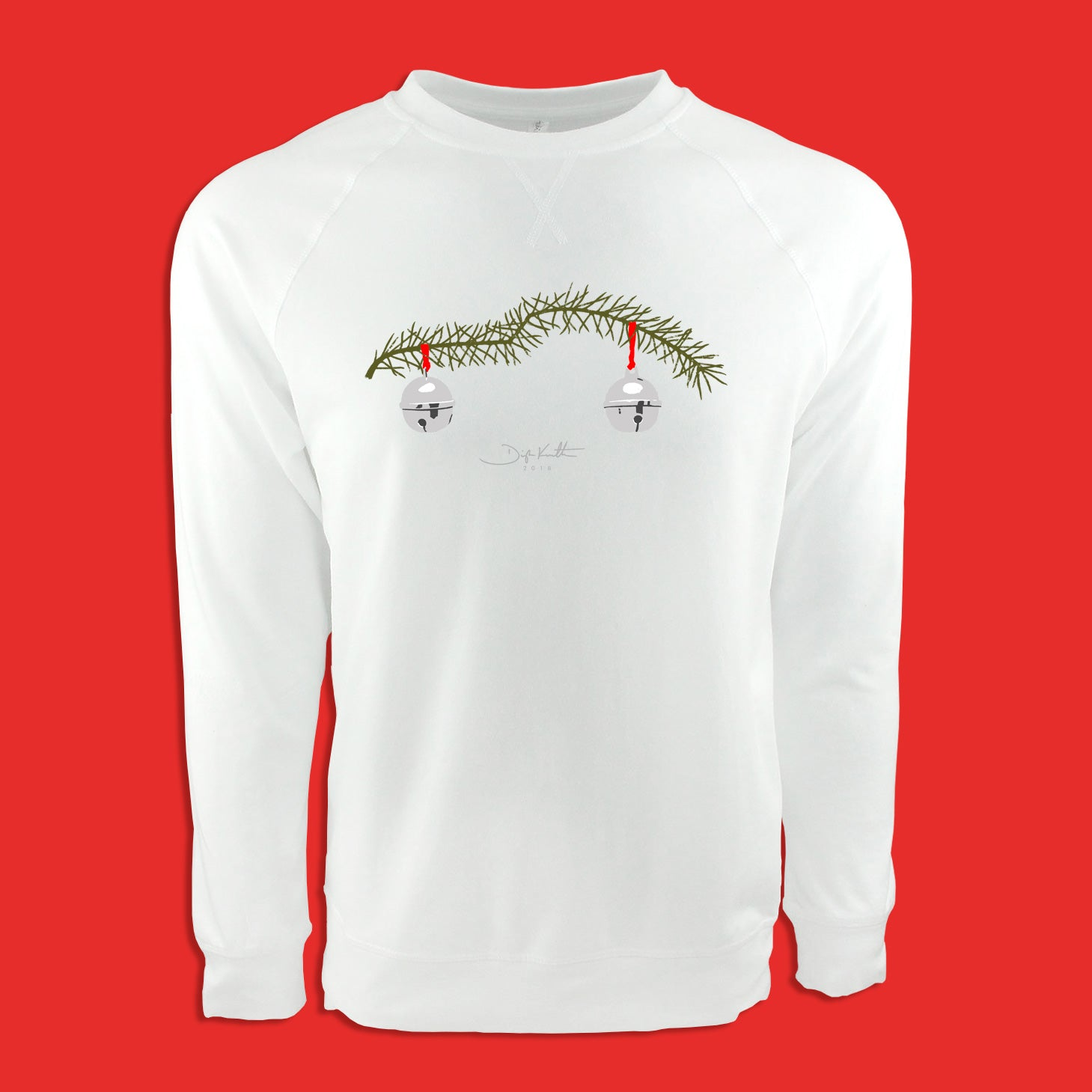"""Pining for a Porsche"" Holiday Signature Sweatshirt - PRESALE"