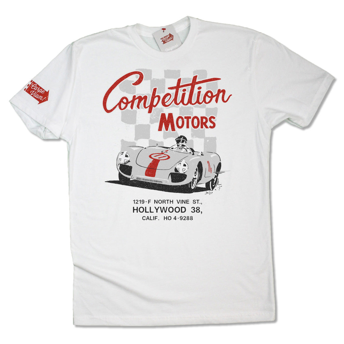 "Competition Motors ""Spyder"" Premium T-shirt"