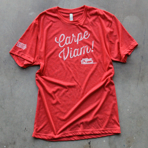 "Adult ""Carpe Viam!"" T-shirt"