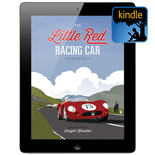 Kindle Edition: The Little Red Racing Car