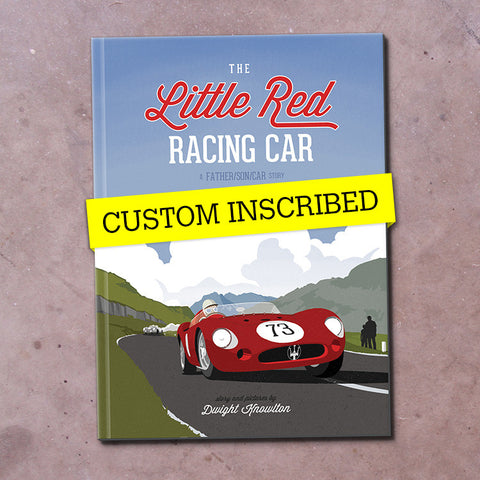 The Little Red Racing Car: Hardcover – Inscribed