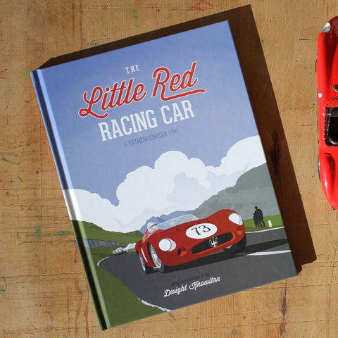The Little Red Racing Car: Hardcover