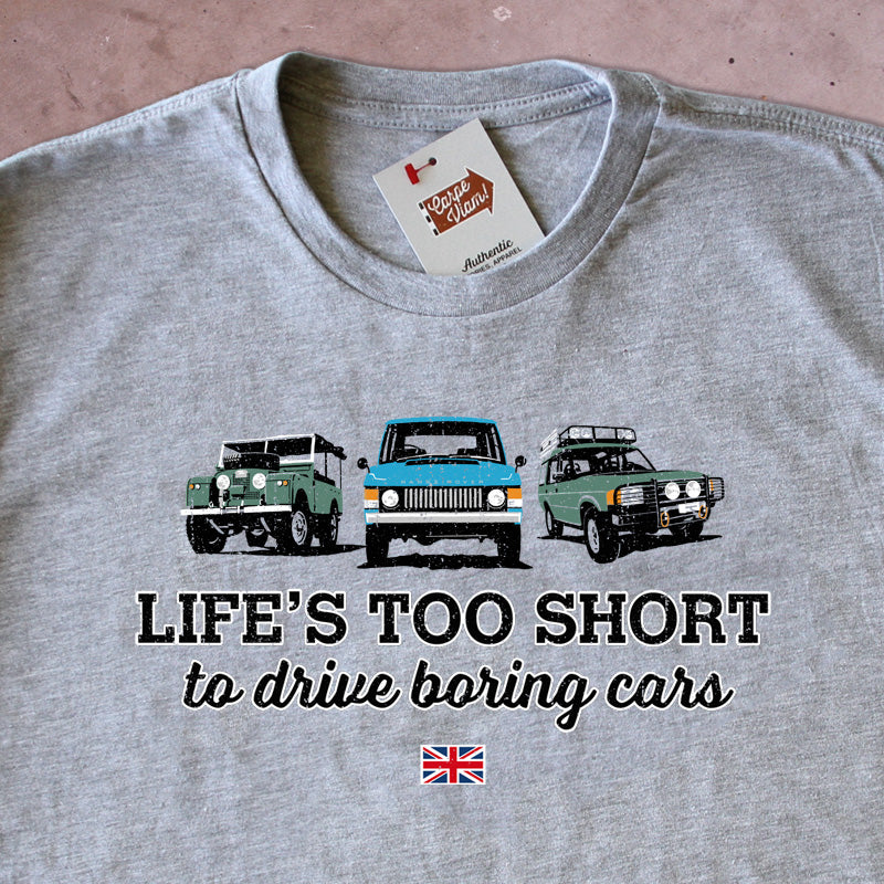 Life's Too Short to Drive Boring Cars – Land Rover