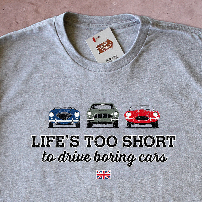 Life's Too Short to Drive Boring Cars – Vintage British