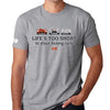 Life's Too Short to Drive Boring Cars T-shirt, Carpe Viam