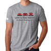 Life's Too Short to Drive Boring Cars T-shirt, Ferrari