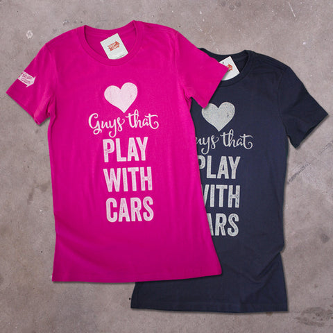 "Ladies ""Loves Guys..."" Premium T-shirt"
