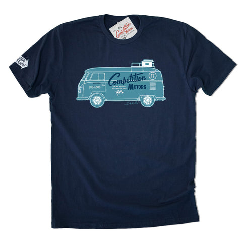 Competition Motors Bus T-shirt