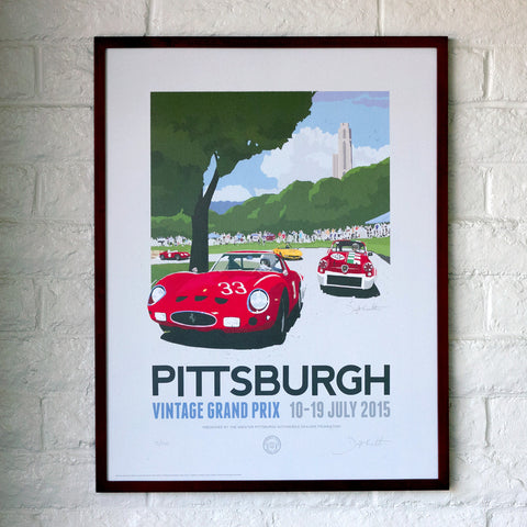 Official PVGP 2015 Limited Edition Lithograph