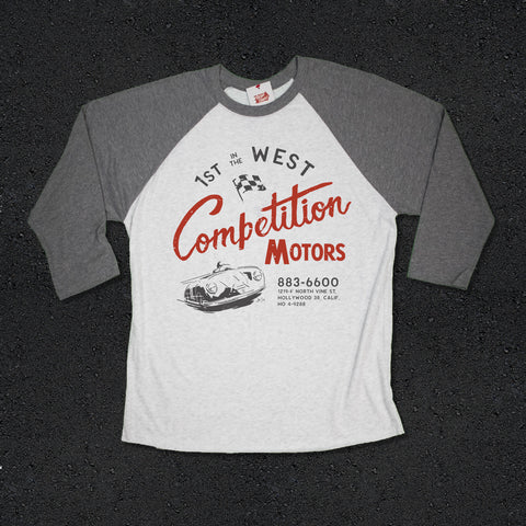 Competition Motors Premium Raglan