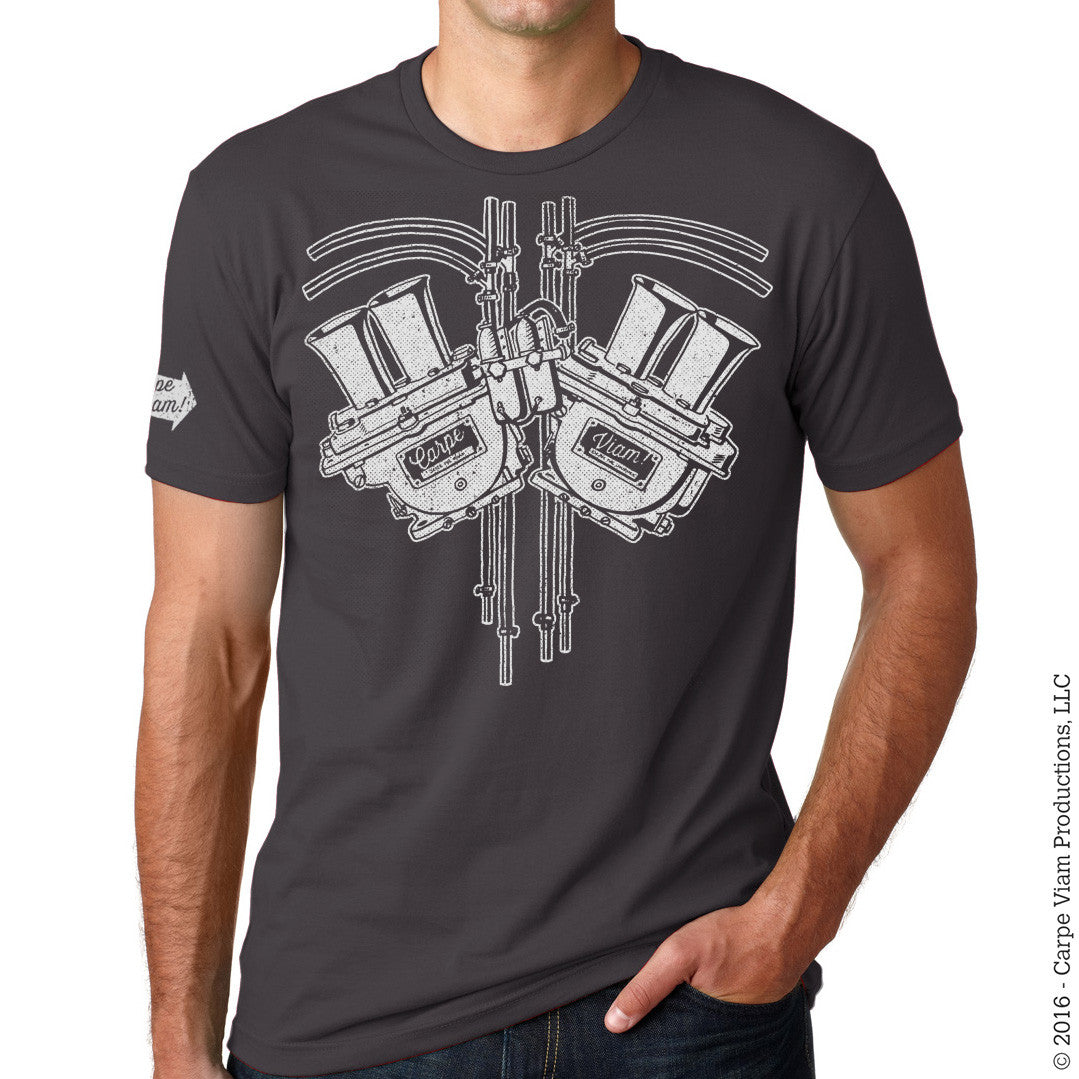 "The ""Petrolhead Respiratory System"" T-shirt"