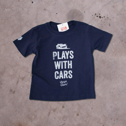 "Boys ""Plays with Cars"" T-shirt"