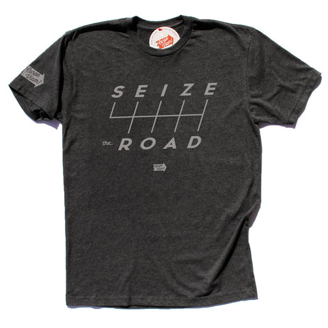 """Seize the Shifts"" Premium T-shirt – Charcoal"