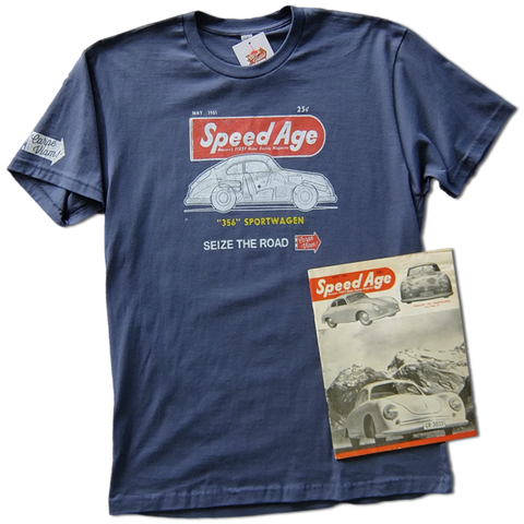 "The ""SpeedAge"" Magazine T-shirt"