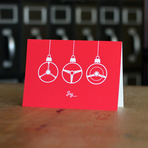 """Joy"" Boxed Holiday Card Set (Set of 12)"
