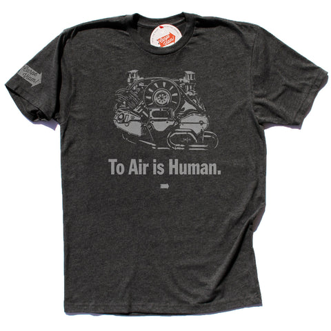 """To Air is Human"" (Flat Six) – Premium T-shirt"