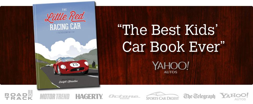 The Little Red Racing Car Hardcover