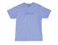 Pottery is my Favorite Sport Embroidered Tee - Periwinkle